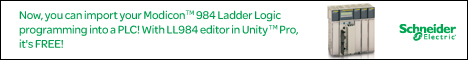 Schneider Unity Pro™ Software with the all new LL984 Editor