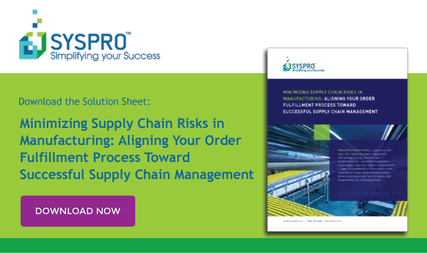 Solution Sheet: Minimizing Supply Chain Risks in Manufacturing