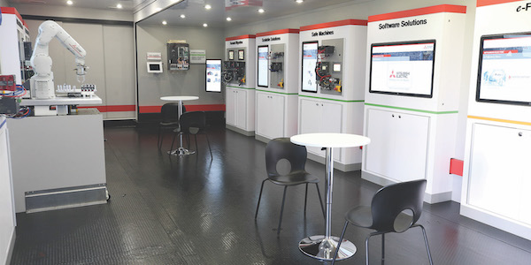 Mitsubishi Electric Automation Mobile Showroom