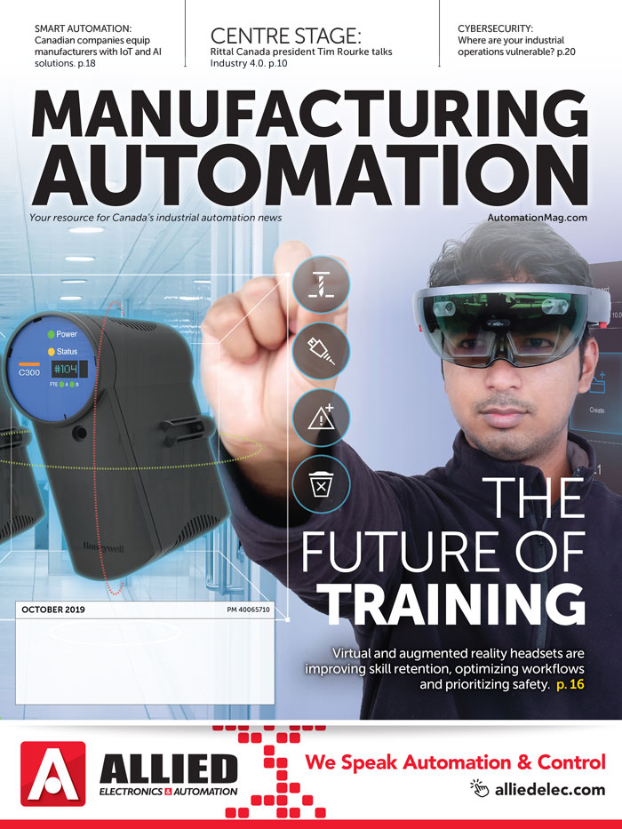 Manufacturing AUTOMATION October 2019