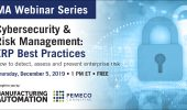 MA Webinar Series: Cybersecurity & Risk Management
