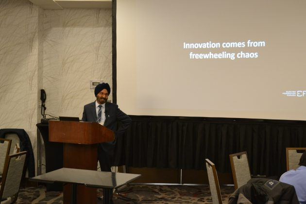 Gurvinder Chopra, VP standards Electro-Federation Canada
