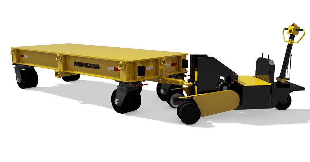 Hamilton EP100K Cart