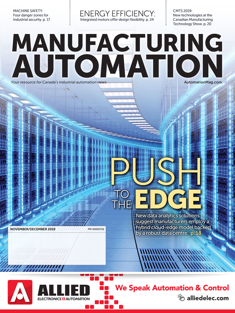 Manufacturing AUTOMATION November/December 2019