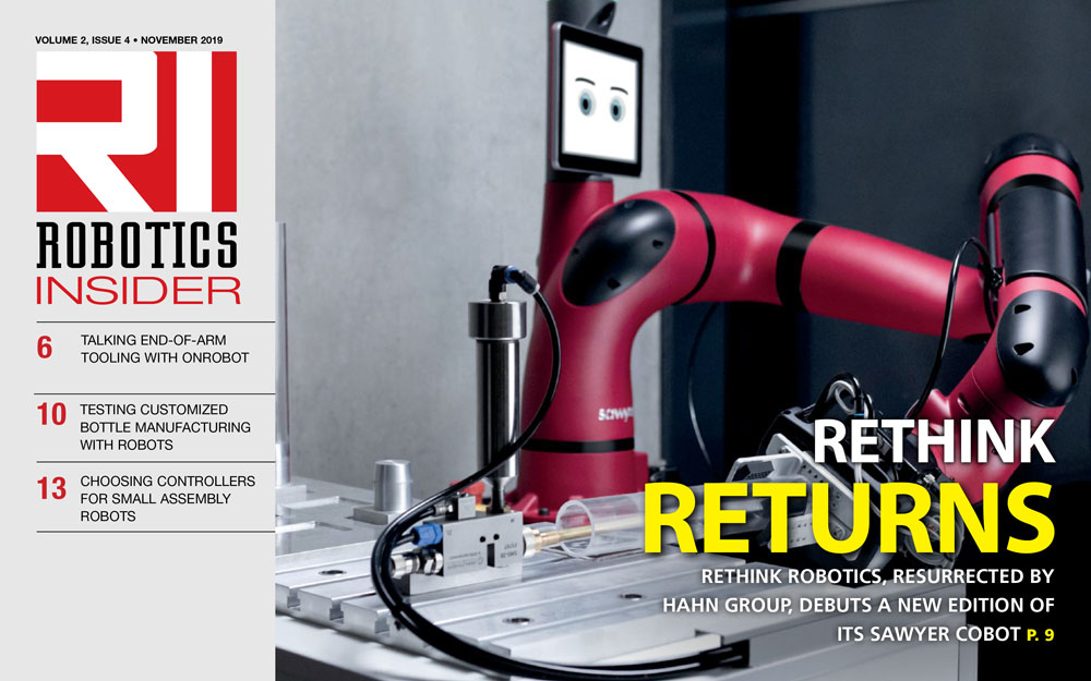 Robotics Insider November 2019