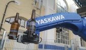 RoboFill used a Yaskawa robot arm with gripper from Zimmer Group