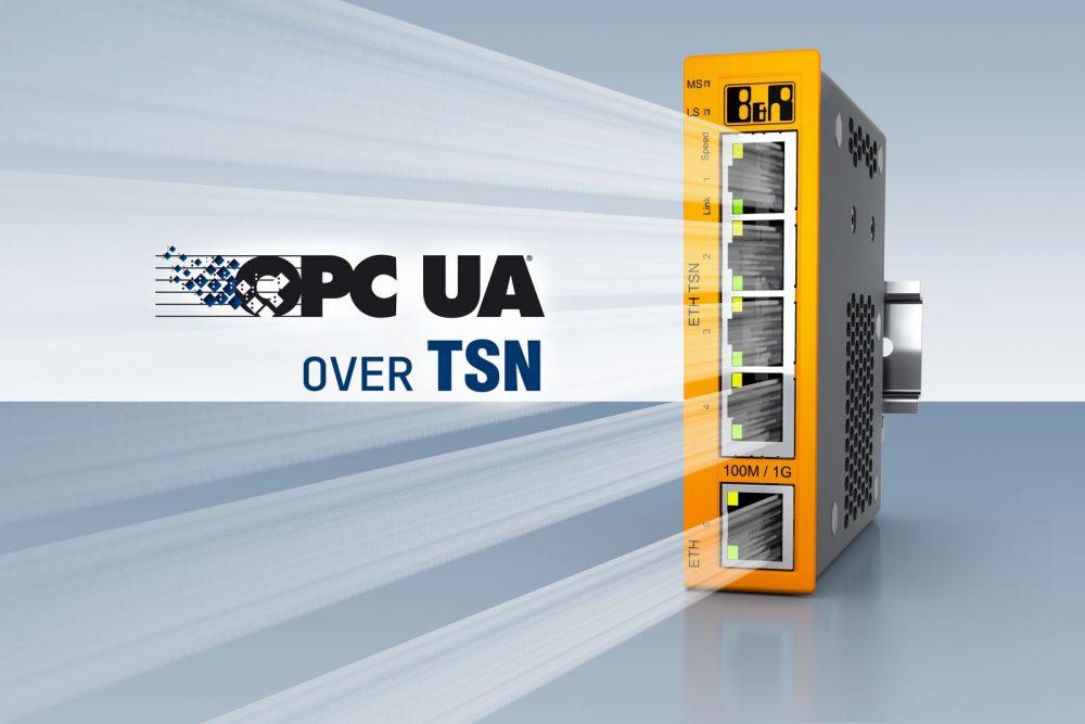 BRAutomation-OPCUAoverTSN