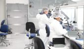 Critical component assembly in sensor manufacturer PCB's new clean room
