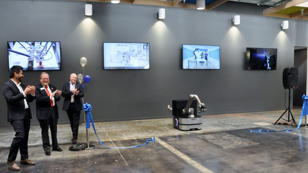 Omron has opened a new robotics and automation headquarters in California. Photo: Newswire