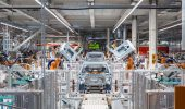 Volkswagen's first new generation electric car being built with Siemens automation technology. Photo: Siemens
