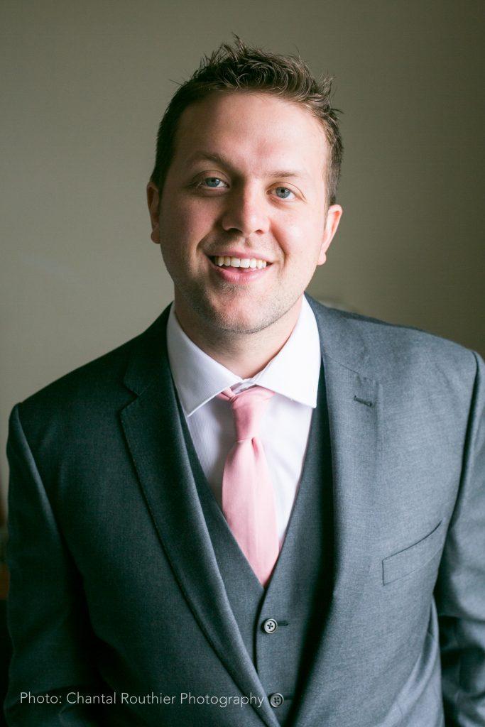 Cory Morris is the new VP, Atlantic region at Graybar Canada. Photo: Chantal Routhier Photography/Graybar Canada