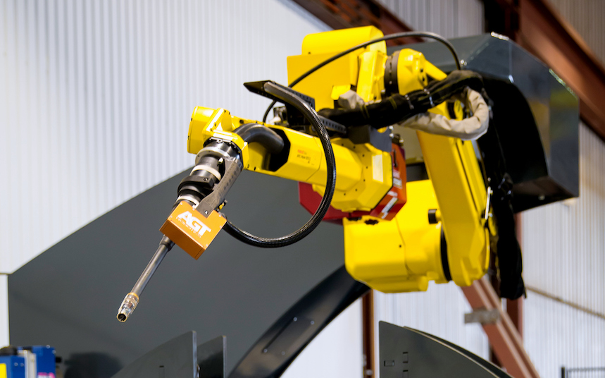 Automation, squared: Quebec robotics company delivers a welding win