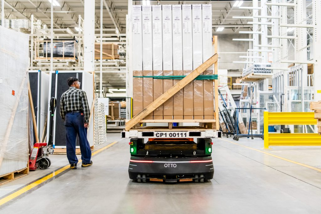 The new warehouse worker: OTTO Motors sees growth of mobile robots