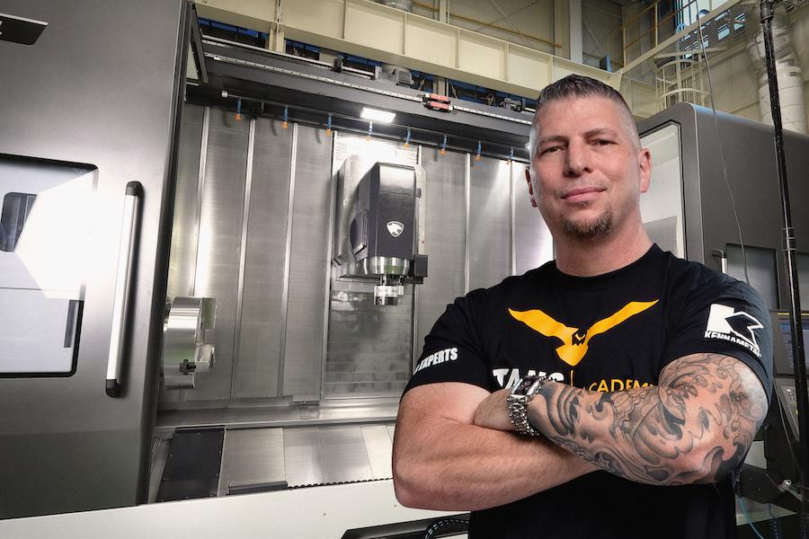 Titan Gilroy, CEO of TITANS of CNC